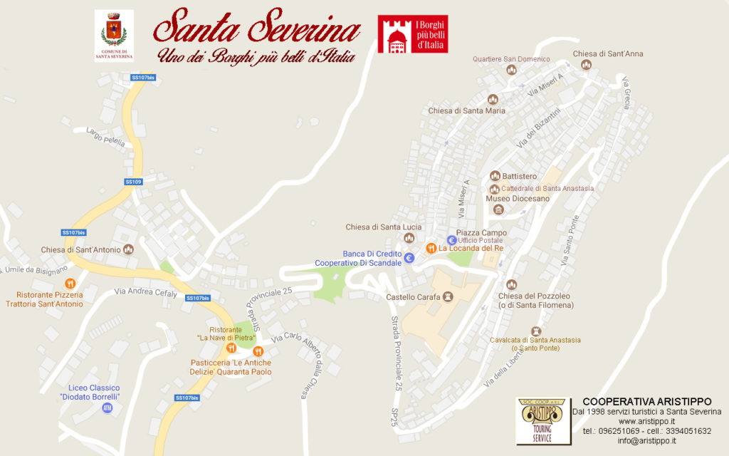 Mappa Santa Severina